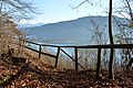 Poertschach Hohe Gloriette-Weg Blick auf Pyramidenkogel 26122014 664.jpg