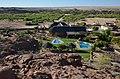 Pohled na Brandberg White Lady Lodge - Namibie - panoramio.jpg