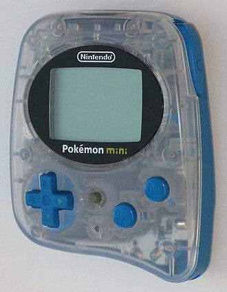 "Pokémon Mini - ""Wooper blue"" Pokémon mini"