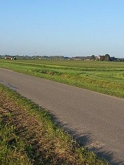 Polder bij Vlijmen in Noord-Brabant 02