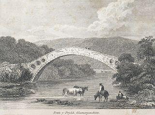 Pont-y-Prydd, Glamorganshire