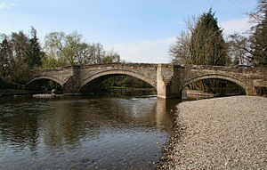 Pooley Bridge - Pooley bridge stood from 1764 until being washed away in floods in December 2015.