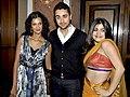 Poorna Jagannathan, Imran Khan, Shenaz Treasuryvala From The 'Delhi Belly' success bash.jpg