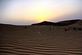 Por do sol no deserto - Sunset at the desert of Abu Dhabi (17153697457).jpg