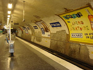 Porte des Lilas (Paris Métro) - Image: Porte Lilas 11