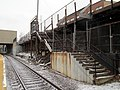 Porter station stairs from Somerville Ave 1.JPG