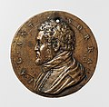 Portrait medal of Jacopo Antonio Sorra (obverse); A Nude Male Figure Shooting Arrows (reverse) MET DP-1241-005.jpg