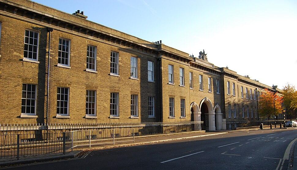 Portsmouth Grammar School seen from the High Street