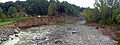 Post-Irene Moodna Creek panorama from Forge Hill Road bridge, New Windsor, NY.jpg