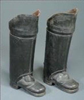 Postilion - Postillion boots,  17th century