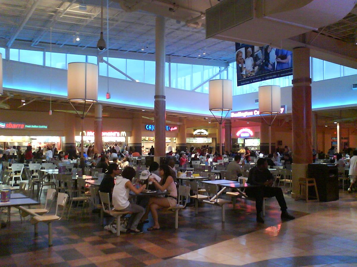 Springfield Mall Food Court