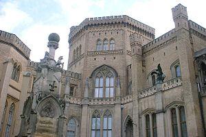 Friedrich Ludwig Persius - Babelsberg Castle in Potsdam-Babelsberg