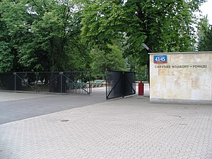 Powązki Military Cemetery - Main gate