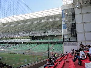 Estádio Independência - Image: Pré jogo 18 11 12