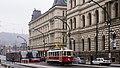 Prague historic tram 2172 (14626175829).jpg