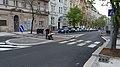 Praha 10 ulice Ruska 11 prechod s ostruvkem.JPG