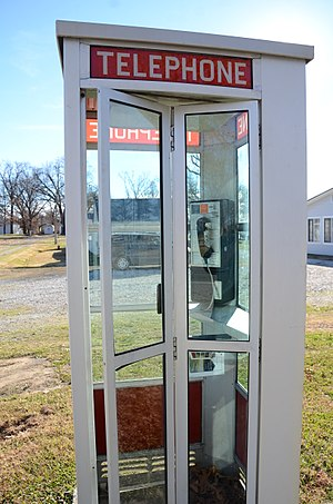 Prairie Grove Airlight Outdoor Telephone Booth - Image: Prairie Grove Airlight Outdoor Telephone Booth 4 of 5
