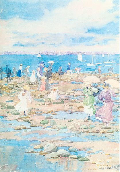 Summer Visitors, 1897. Maurice Prendergast. From Retirement Travel: Exploring the World, on Your Own Terms