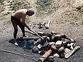 Preparing a hot stone bath, Bumthang.jpg