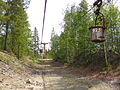 Preserved section of ropeway.jpg
