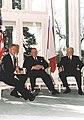 President Bill Clinton with President Martti Ahtisaari of Finland and President Boris Yeltsin of Russia.jpg