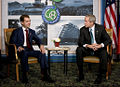 President Bush Meets with President Medvedev of Russia at G8 Summit.jpg