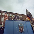 President John F. Kennedy at City Hall in Cologne, Germany JFKWHP-KN-C29242.jpg
