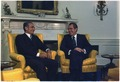 President Nixon and the Shah of Iran in the Oval Office - NARA - 194536.tif