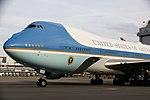 President Trump Arrives in Switzerland (25020614307).jpg