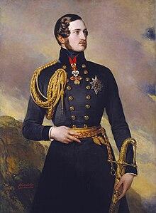 Albert von Sachsen-Coburg und Gotha (Gemälde von Franz Xaver Winterhalter, 1842) (Quelle: Wikimedia)
