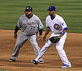 Prince Fielder and Derrek Lee on August 2, 2010.jpg