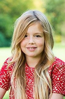 second daughter of Máxima Zorreguieta and Willem-Alexander