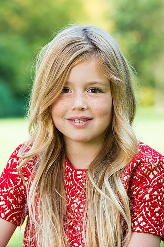 Princess Alexia of the Netherlands - Princess Alexia in 2014