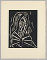 "Print, Svaty Simeon, Saint Simeon, Plate VI, ""Ethiopie, cili Christos, Madonna a Svati, jak jsem ie videl v illuminacich starych ethiopskych kodexu"" Portfolio, 1920 (CH 18684921-2).jpg"
