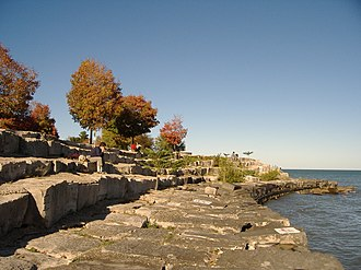 Promontory Point (Chicago) - South side of Promontory Point.