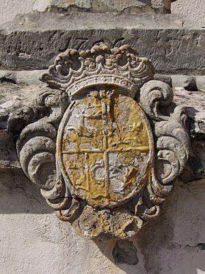 Proskowski coat of arms in Prószków (Proskau), Upper Silesia