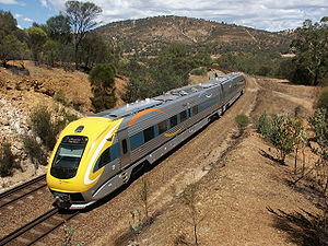Diesel multiple unit - Image: Prospector new railcar, Toodyay