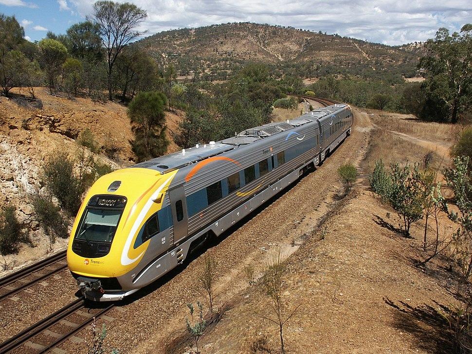 Prospector new railcar, Toodyay
