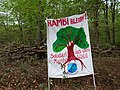 Protest banner in the Hambach forest 03.jpg