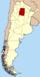 Lage der Provinz Santiago del Estero