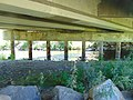 Provo River under University Parkway, Provo, Utah, Jul 16.jpg