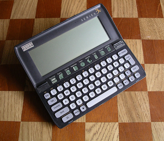 Old Hardware Emulated :Psion Model 3a Emulated On DOSBox Windows