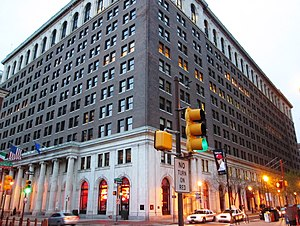 Public Ledger (Philadelphia) - Public Ledger Building (1924, Horace Trumbauer, architect)