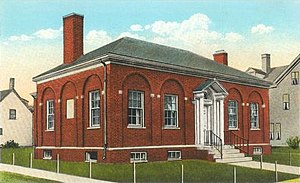 South Paris, Maine - Paris Public Library, designed by John Calvin Stevens