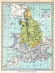 England 1065 before the Normans conquered
