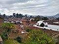 Pueblo mágico de Pátzcuaro desde el Mirador de los Once patios 01.jpg