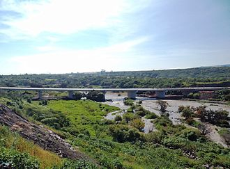 Lerma River - Bridge over the Lerma River