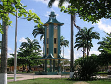 Central Plaza in Puerto Maldonado
