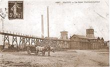 Carte postale ancienne en noir et blanc montrant les - Bassin recreatif ancienne lorette calais ...