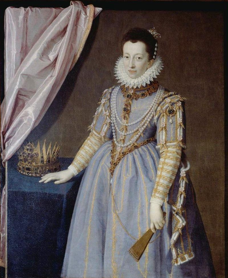 Pulzone, Scipione - Cristina di Lorena, granduchessa di Toscana - 1590.jpg